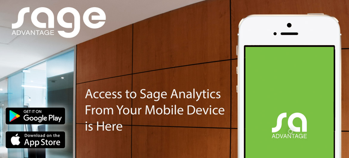 sage Mobile Announcement - Sage Analytics - Mobile App is Here